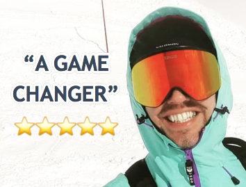 SunGod Vanguards - Ski Goggles Ad