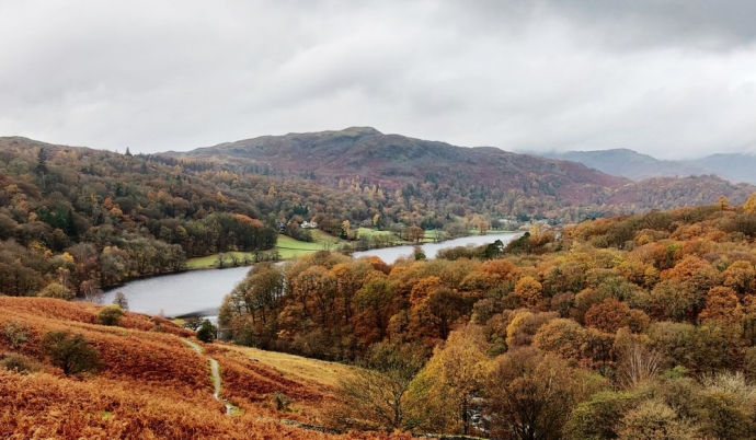 Grasmere In Autumn - Lake District