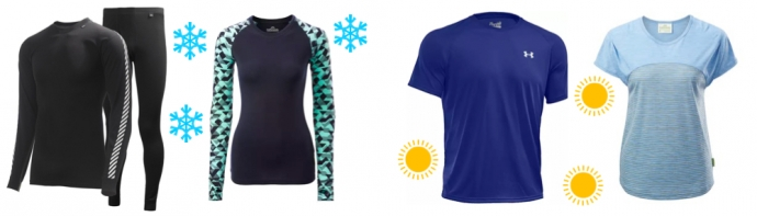Walking Base Layers For Men and Women