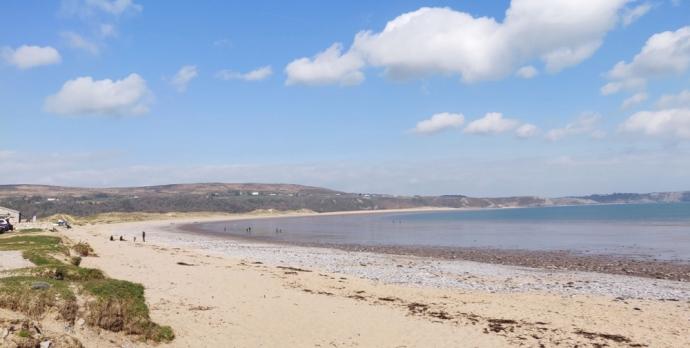 Oxwich Bay beach, Gower, Wales