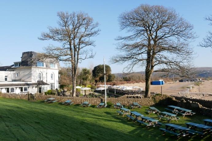 Garden view - Oxwich Bay hotel