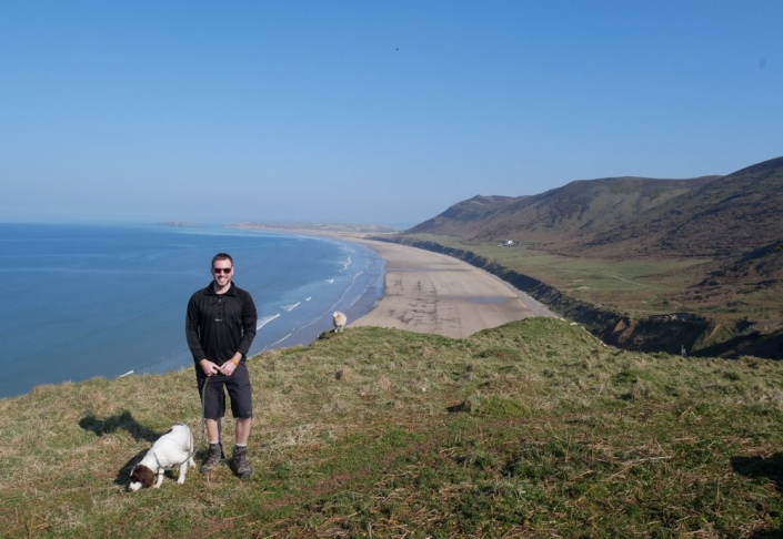 Simon Heyes - UK Hiking Blogger - Rhossili Bay