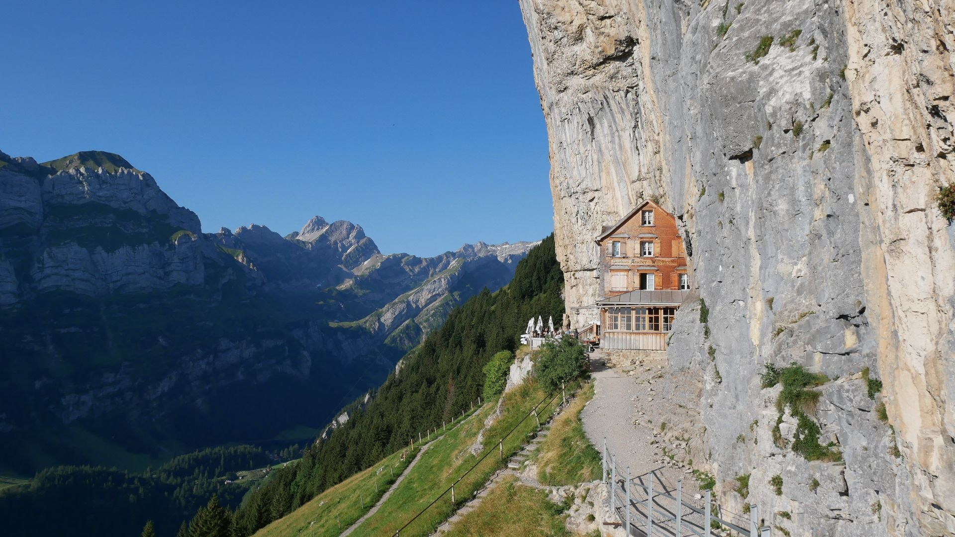 Berggasthaus Aescher Appenzell