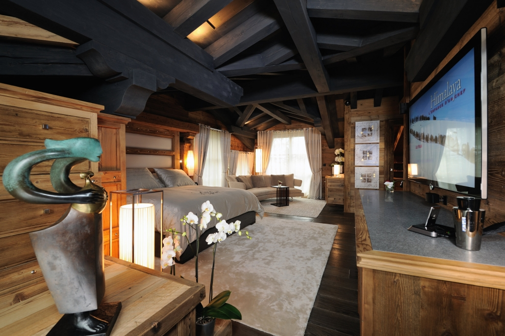 Chalet Art - Bedroom - Courchevel