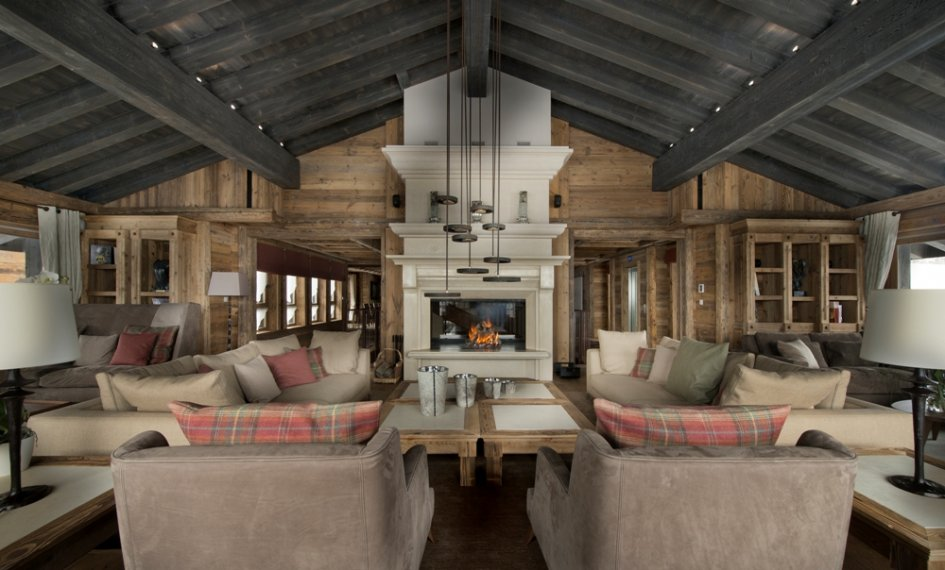 Chalet Edelweiss - Living Area