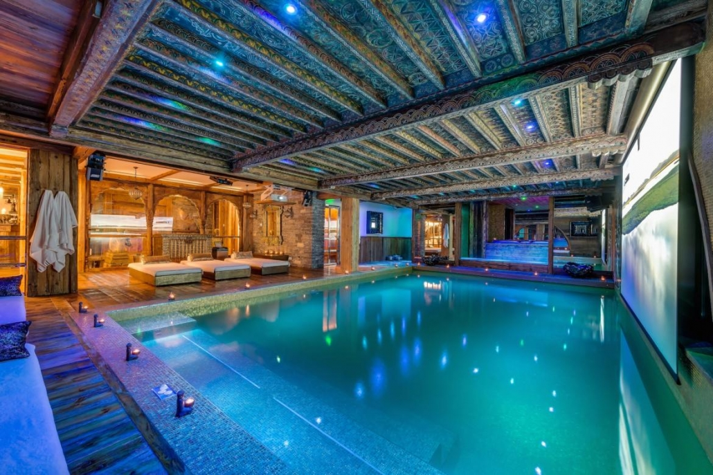 Chalet Marco Polo - Swimming Pool