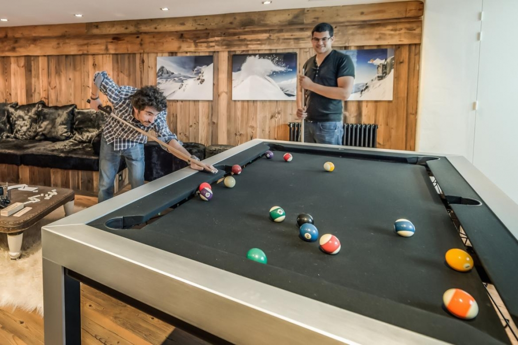 Chalet Marco Polo - Pool Table