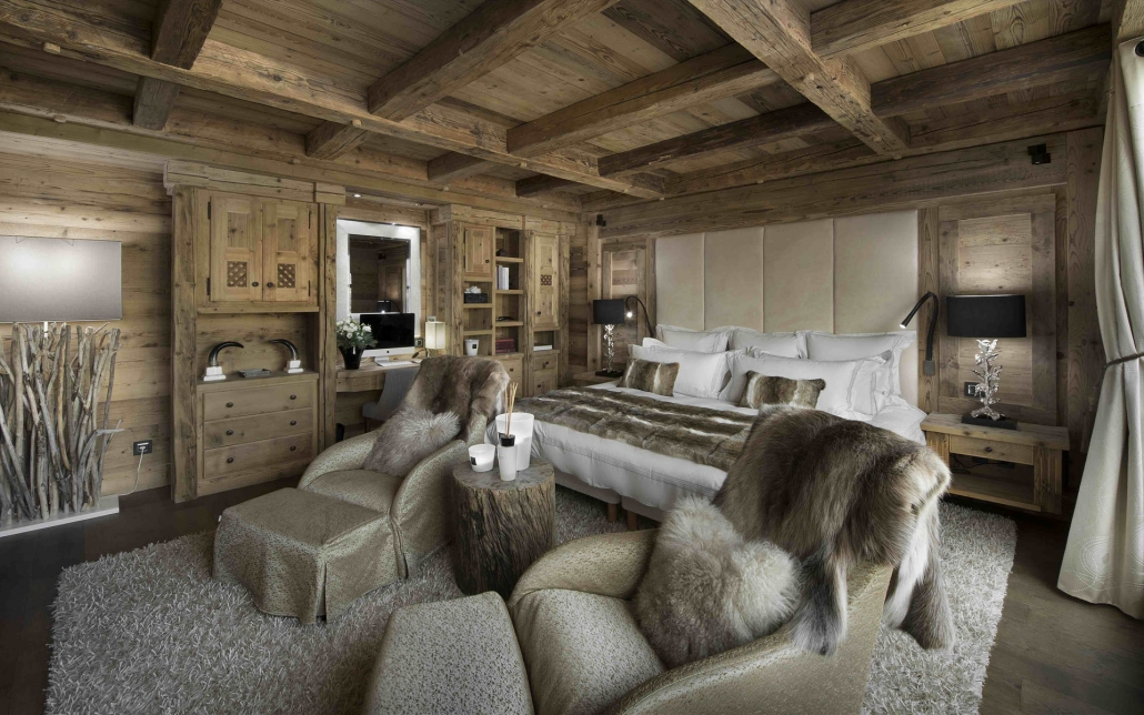 Chalet Pearl Bedroom - Courchevel