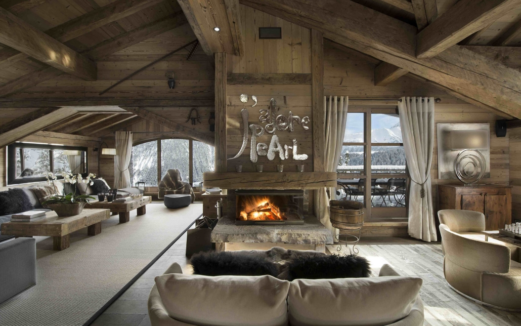 Chalet Pearl lounge - Courchevel