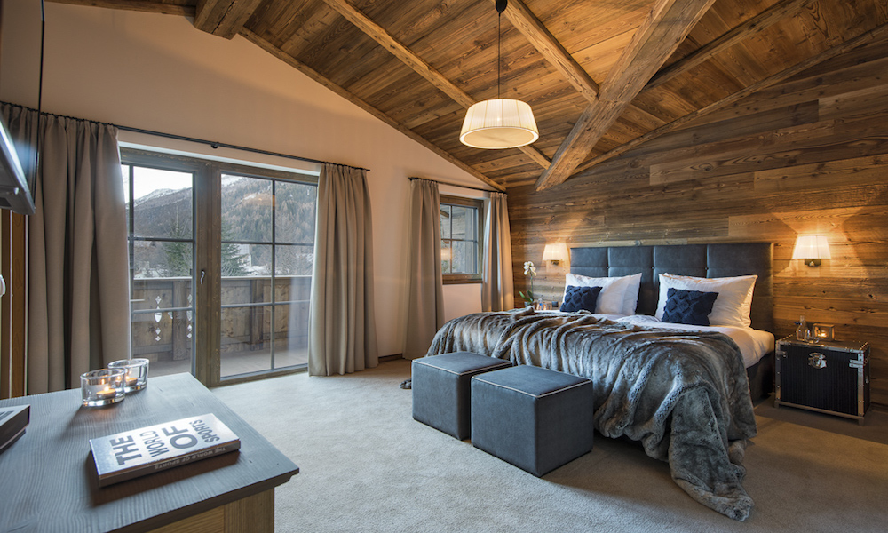 Chalet Eden Rock - Bedroom
