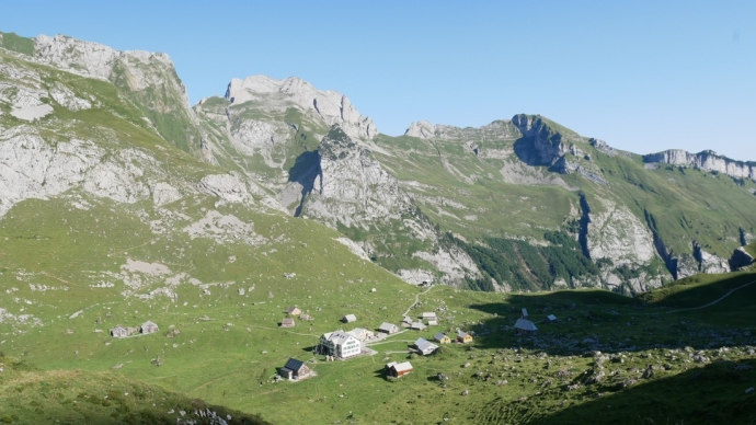 Meglisalp - Swiss Alps View - Appenzell