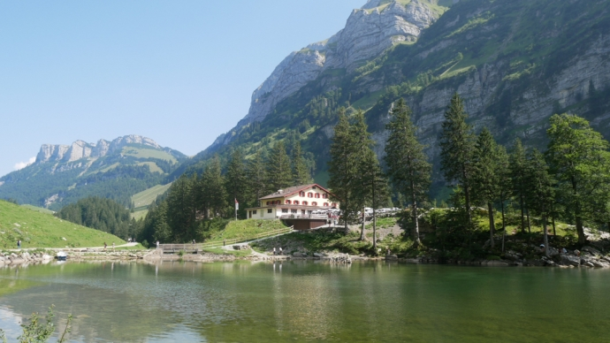 Berggasthaus Seealpsee - Swiss Alps - Appenzell