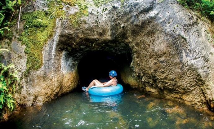 Kauai mountain tubing - Hawaii