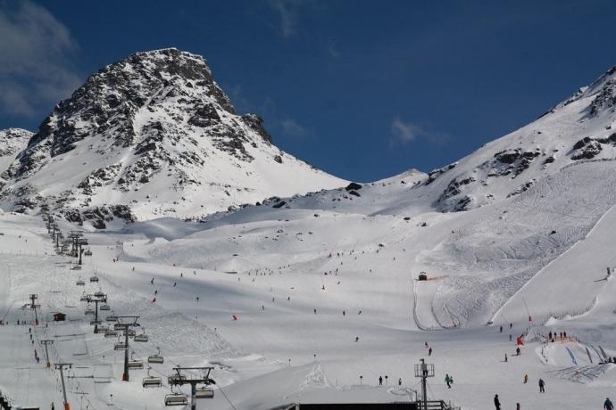 Flimspitz mountain, Ischgl