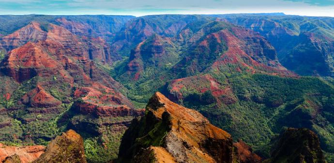 Waimea Canyon - Kauai, Itinerary Hawaii