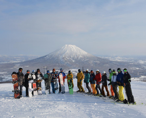 Ski Instructor Course Training In Japan
