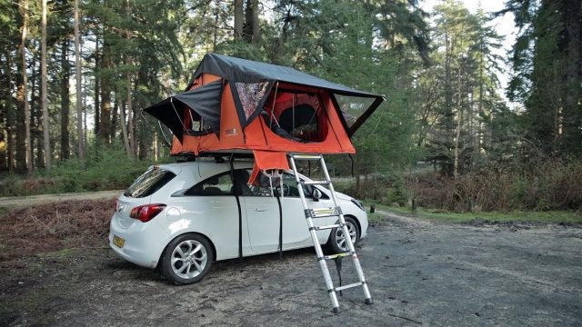 Car Roof Tent Box - TentBox Lite - Home Camping