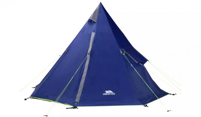 Trespass 4 person tipi tent