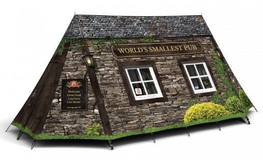 World's Smallest Pub Tent - Field Candy