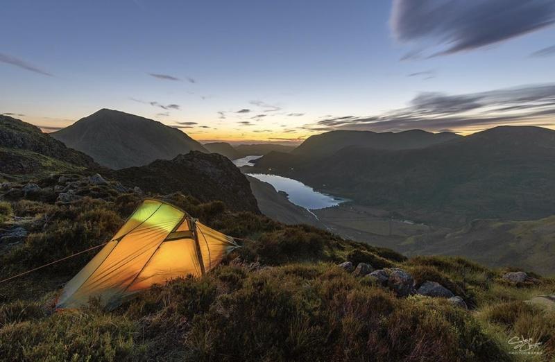 Wild Camping on Haystacks, Lake District