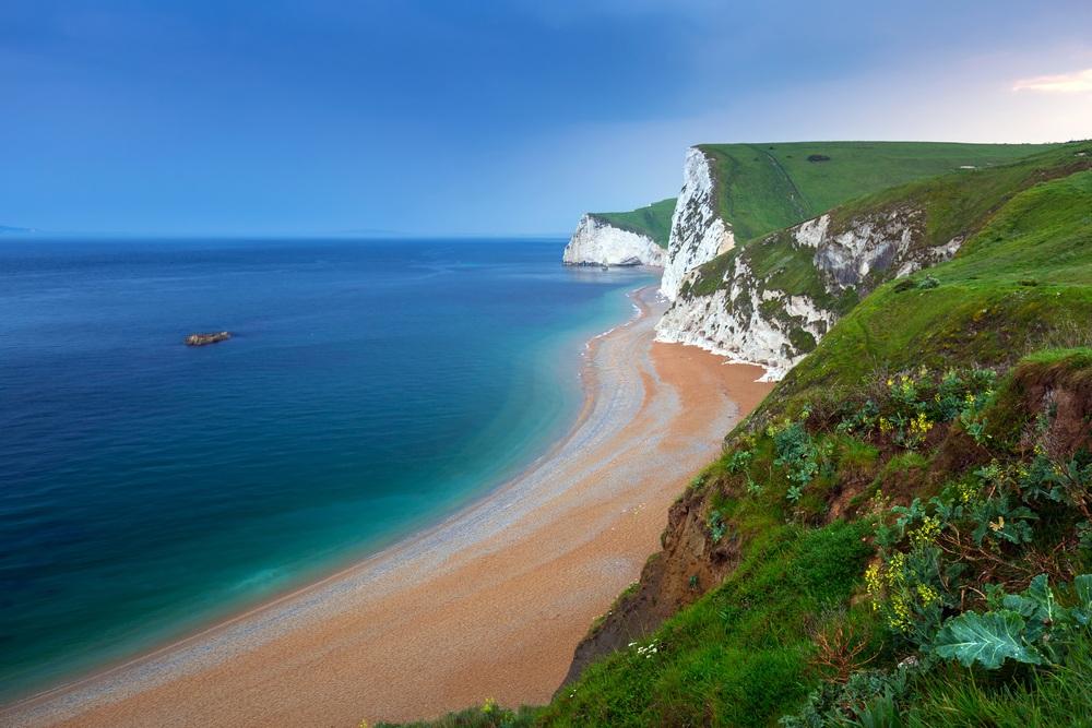 White Cliffs In Dorset