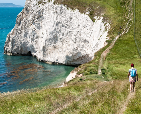 Coastal Walking In Dorset