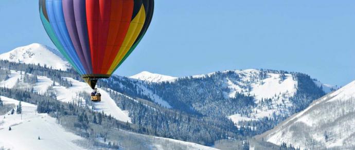 Hot Air Balloon Ride in Courchevel