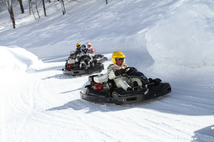 Ice Karting in Italy