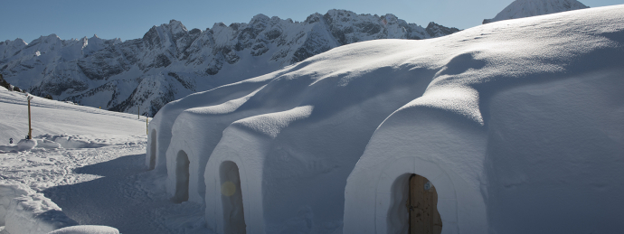 White Lounge Igloo, Ahorn, Mayrhofen