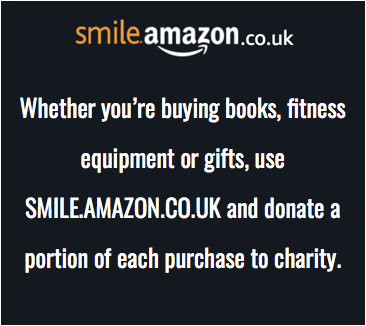 Use smile.amazon.co.uk to donate to charity