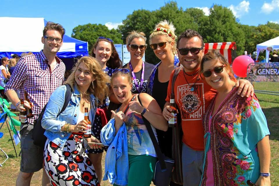 Travel bloggers at Blogstock 2014