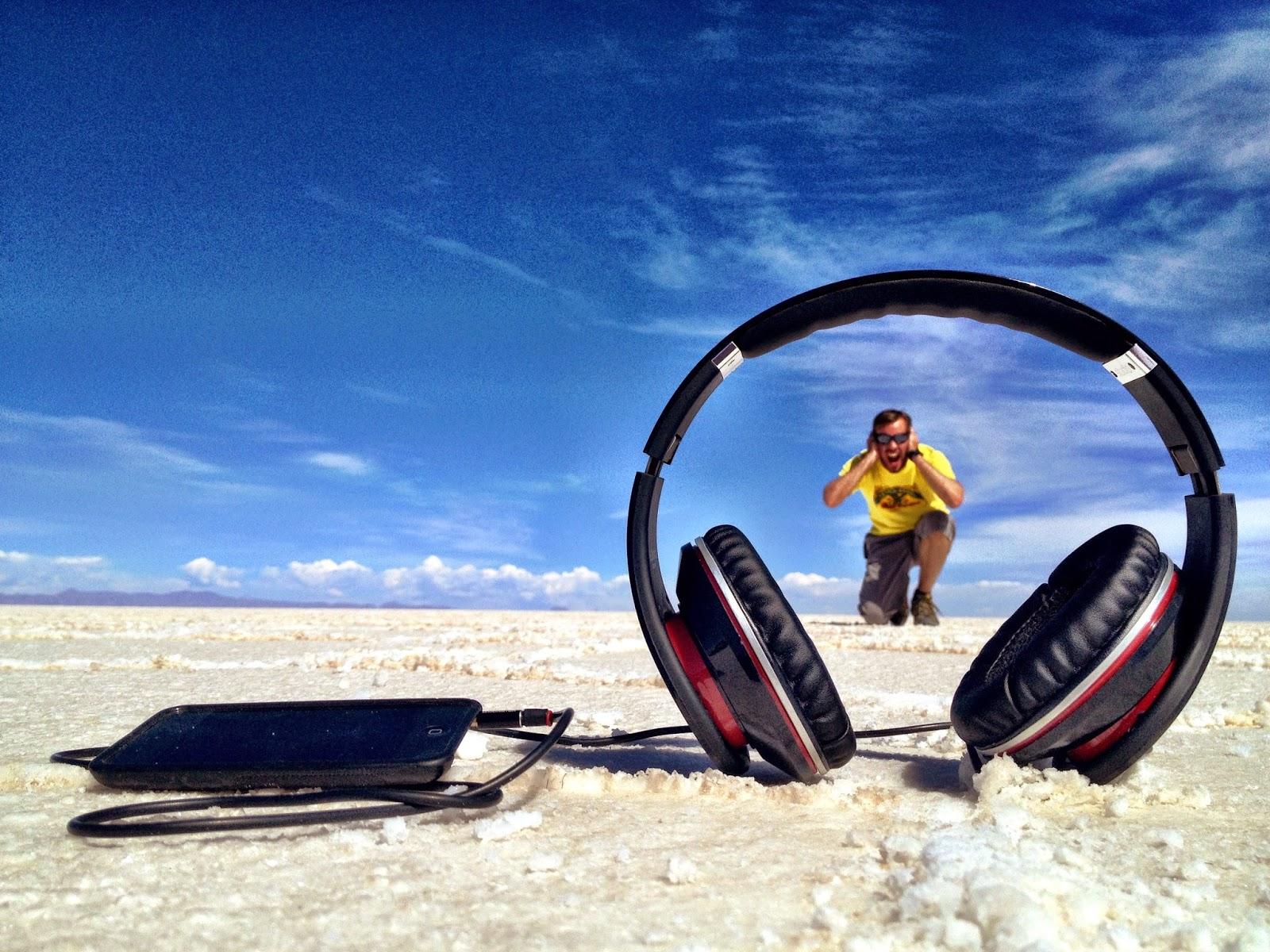Oversized headphones?