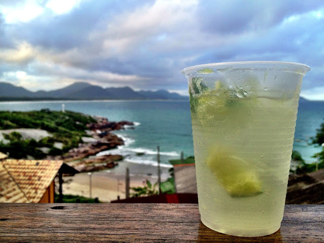 Caipirinhas at Barra Beach Club Hostel, Florianopolis