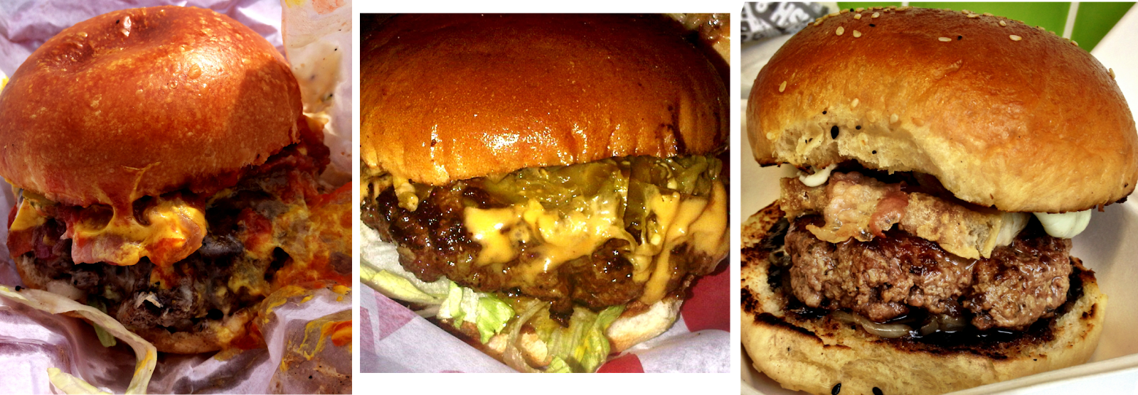 Three burgers in two days - Brighton
