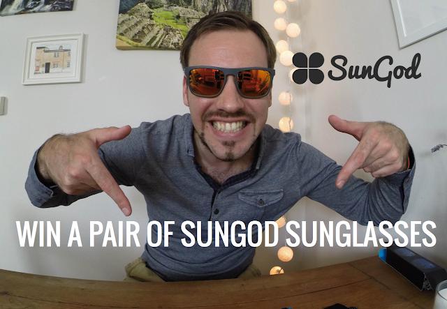 Sungod sunglasses competition - Simon's JamJar