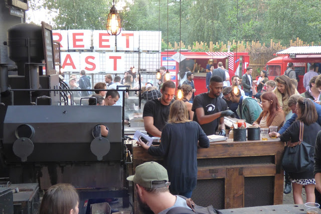 Smokestak at Dalston Yard - National Burger Day 2015