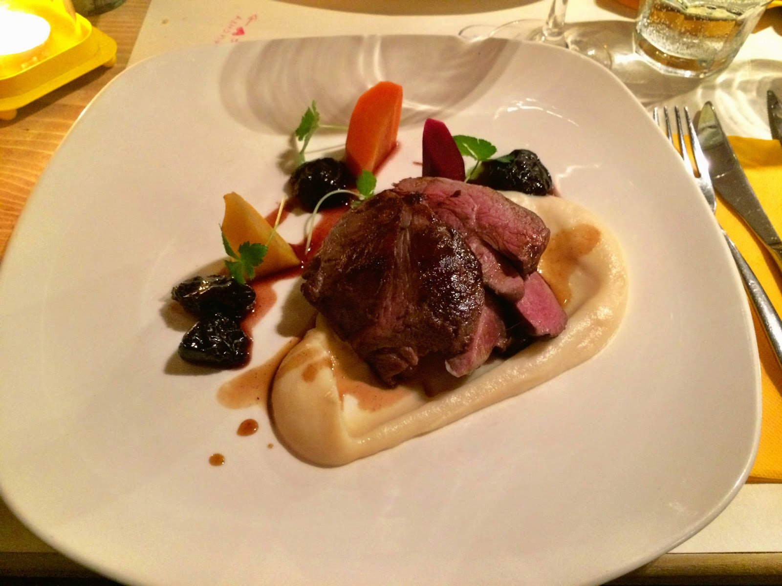 Melt in the mouth lamb and parsnip puree - Zeller Bistro, Budapest