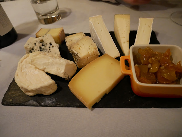 Cheese board - Chalet Braye | Fish & Pips, Meribel Village