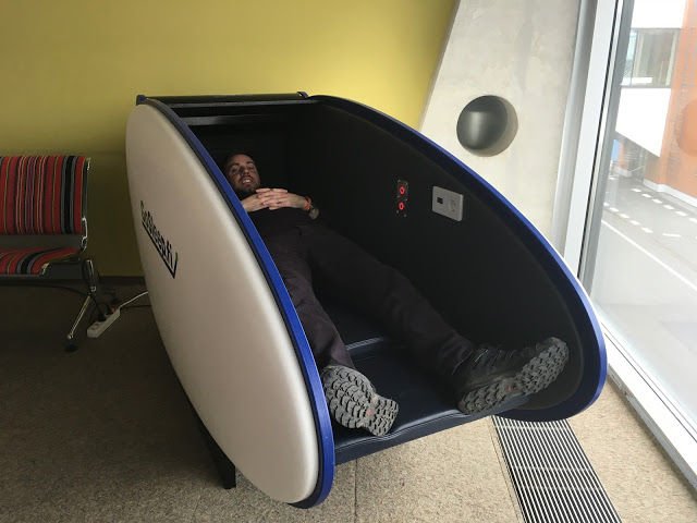 Airport Sleeping Pods - Tallinn Airport - Go Sleep