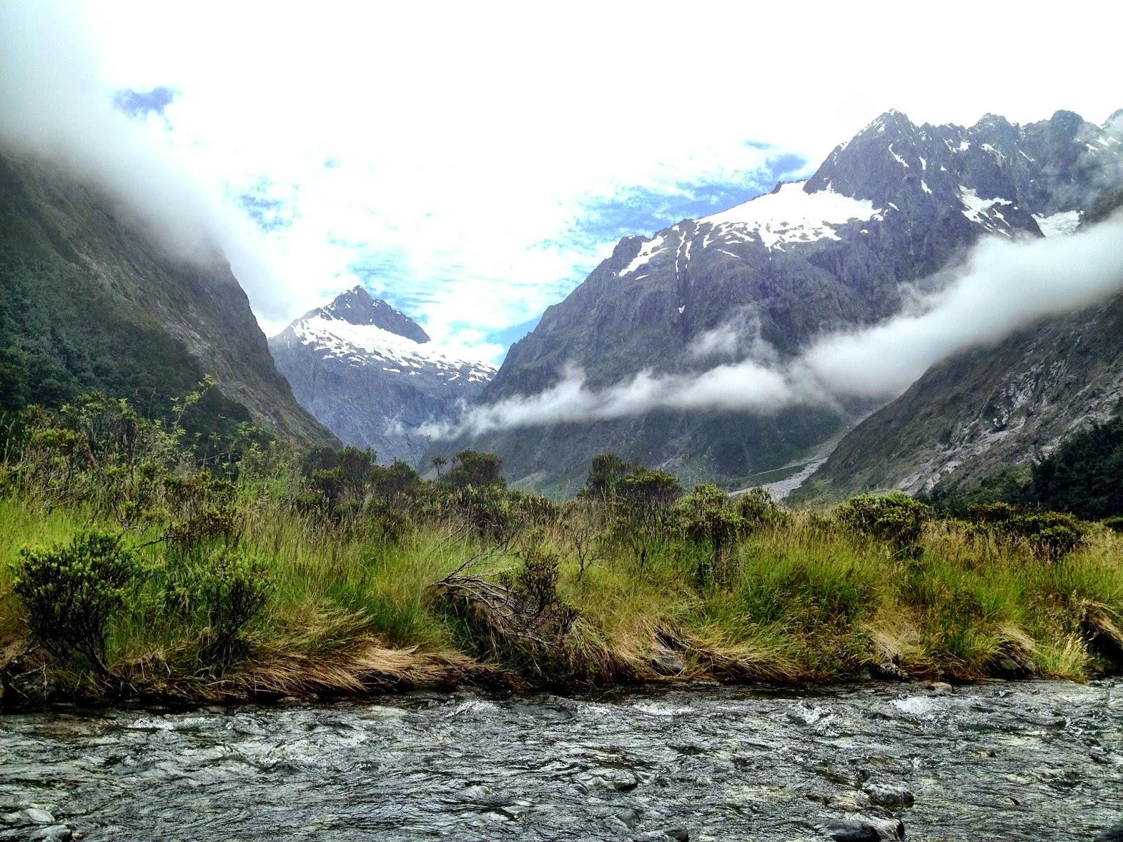 Breathtaking Fjordland National Park, South Island, New Zealand