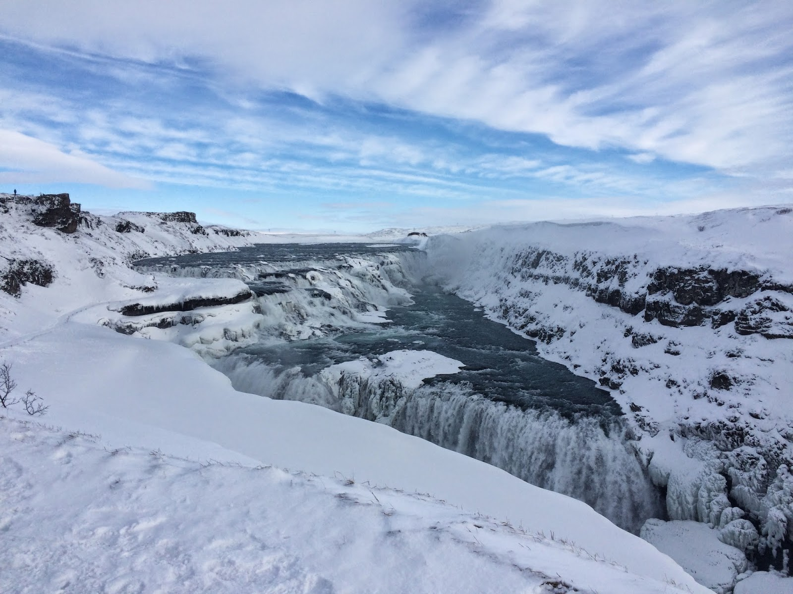 The Gullfoss waterfall - Golden Circle tour - Iceland, 2015