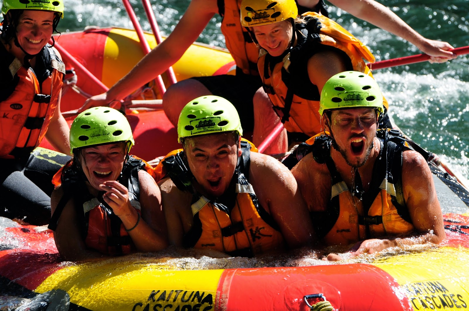 White Water Rafting fun - Rotorua, New Zealand