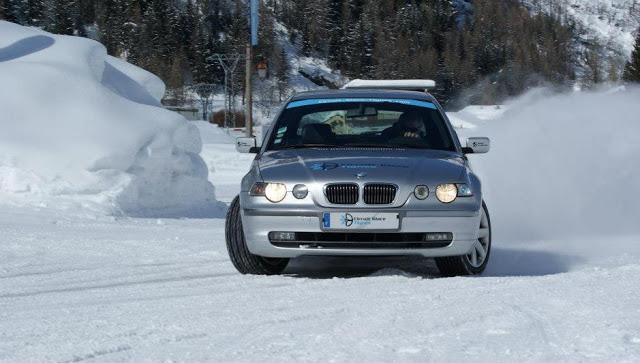 Ice driving in Tignes in winter - Things To Do In Tignes