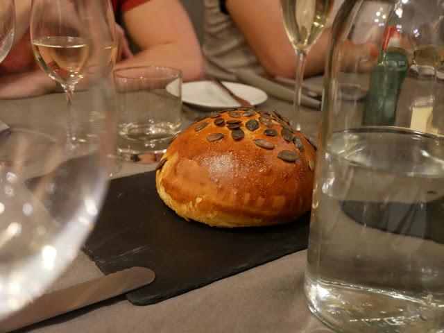 Fresh pumpkin seed bread - Chalet Braye | Fish & Pips, Meribel Village