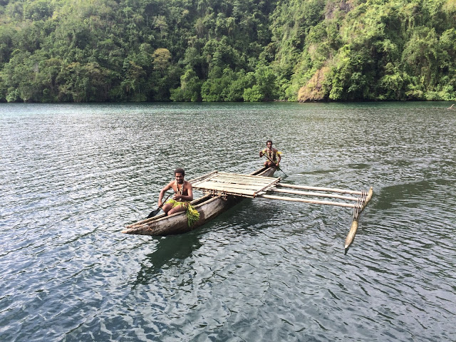Our Canadian kayak - Papua New Guinea