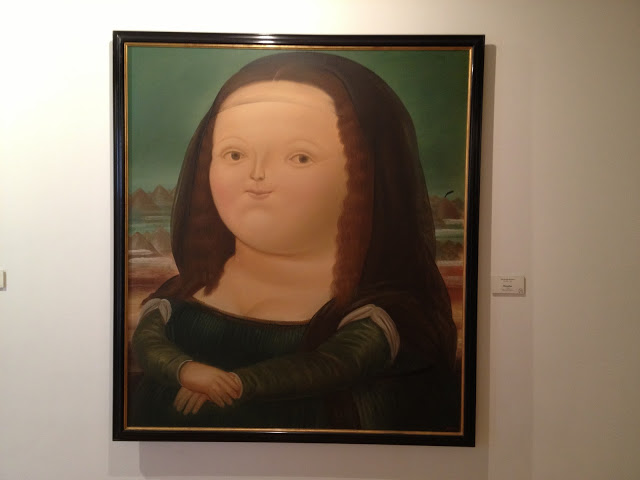 Botero´s fat Mona Lisa