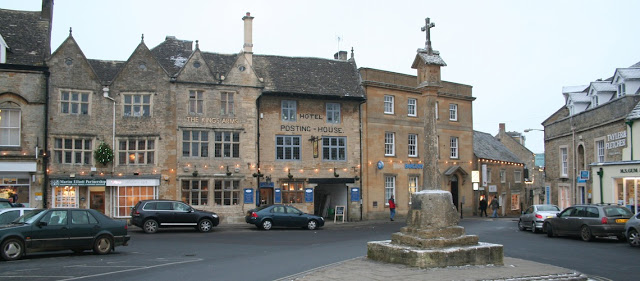 Stow-on-the-wold centre, Cotswolds