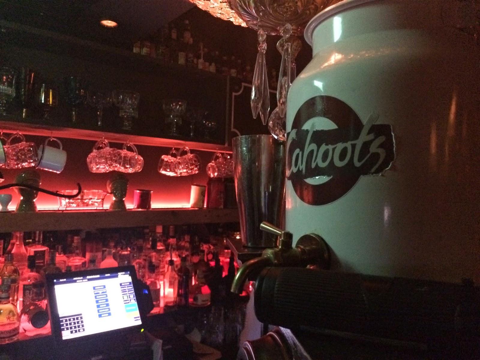 Cahoots - Secret Underground bar