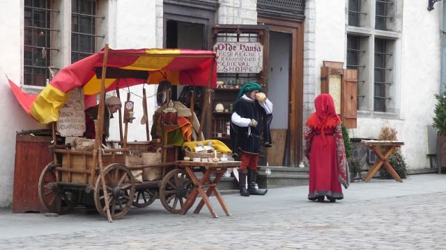 Olde Hansa medieval stall - Tallinn Old Town, Estonia