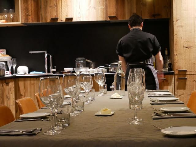 Chef Jeremy working hard in Chalet Braye | Fish & Pips, Meribel Village